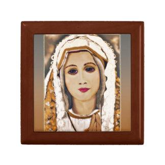 Our Lady of Fatima Treasure Box Jewelry Boxes