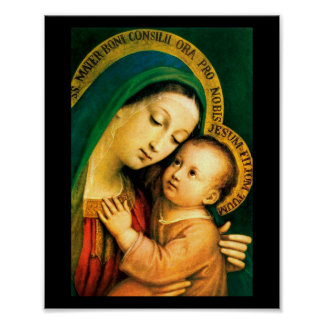 our lady of good counsel poster