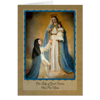 Our Lady of Good Success Note Cards