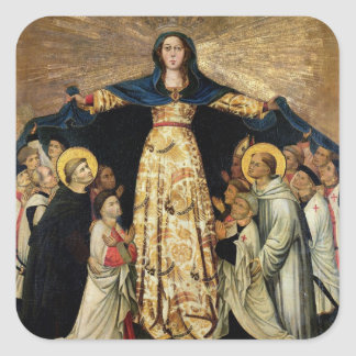 Our Lady of Grace and the Masters of the Order of Sticker