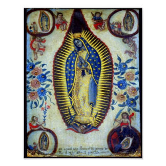 Our Lady of Guadalupe & Apparitions Poster