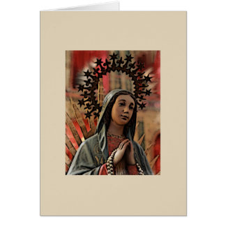 Our Lady of Guadalupe blank card