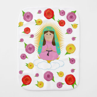 Our Lady of Guadalupe Burp Cloth