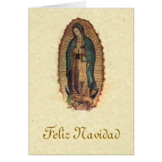 Our Lady of Guadalupe Christmas Greeting Card