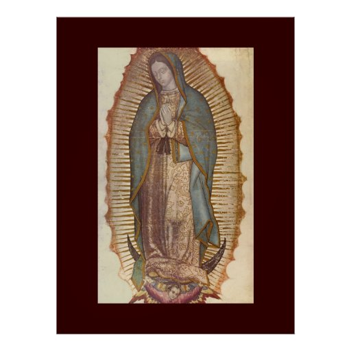 OUR LADY OF GUADALUPE (EXTRA LARGE 40X53) POSTERS