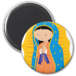 Our Lady of Guadalupe Fridge Magnets