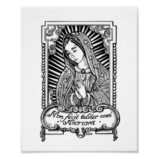 Our Lady of Guadalupe (II) Poster