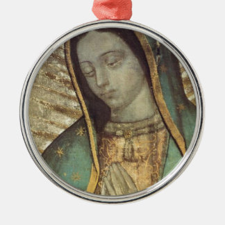 OUR LADY OF GUADALUPE METAL ORNAMENT