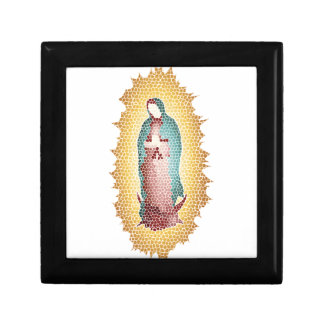 Our Lady Of Guadalupe Mosaic Design Gift Box