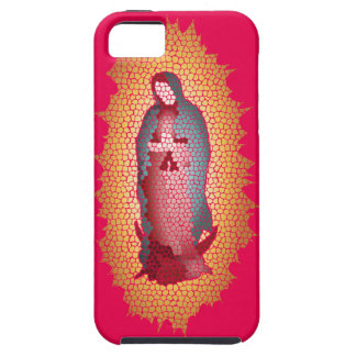 Our Lady Of Guadalupe Mosaic Design iPhone 5 Covers