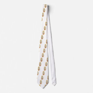 Our Lady Of Guadalupe Mosaic Design Tie