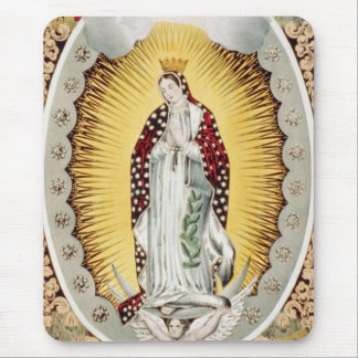 Our Lady of Guadalupe Mouse Pad