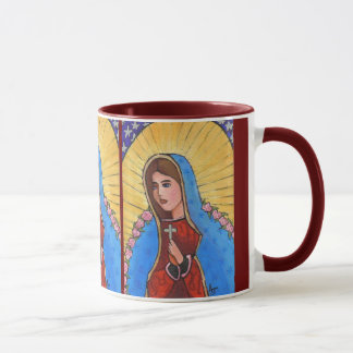 Our Lady of Guadalupe - mug (ringer)