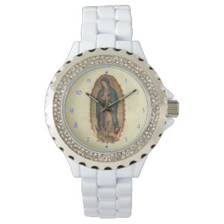 Our Lady of Guadalupe Original Saint of Americas Wrist Watch