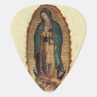Our Lady of Guadalupe, Original Tilpa Guitar Pick