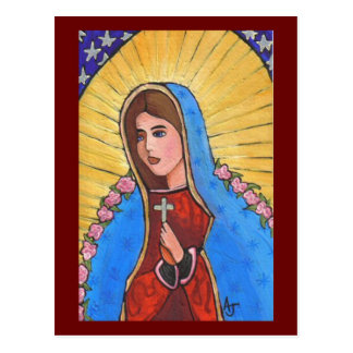 Our Lady of Guadalupe - postcard