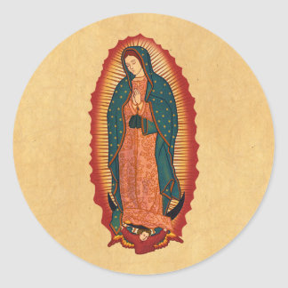 Our Lady of Guadalupe Round Sticker