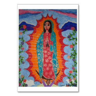 Our Lady of Guadalupe Table Card
