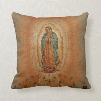 Our Lady of Guadalupe throw pillow