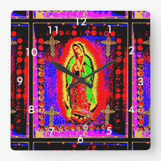Our Lady Of Guadalupe Wallclocks