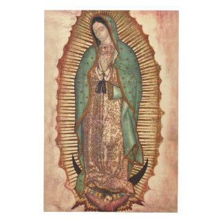 OUR LADY OF GUADALUPE WOOD CANVASES