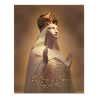 OUR LADY OF KNOCK PRAY FOR US SACRED IMAGE PHOTO PRINT