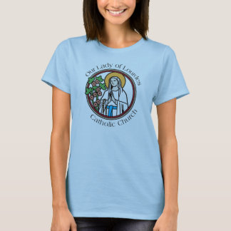 Our Lady of Lourdes Catholic Church - T-Shirt