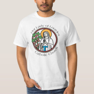 Our Lady of Lourdes Catholic Church T-Shirt