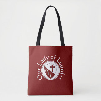 Our Lady of Lourdes School Tote Bag