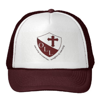 Our Lady of Lourdes School Trucker Hat Maroon