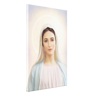 "Our Lady of Medjugorje, 24"" x 36"",  Canvas, 1.5"" Canvas Print"