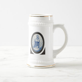 Our Lady of Peace 18 Oz Beer Stein