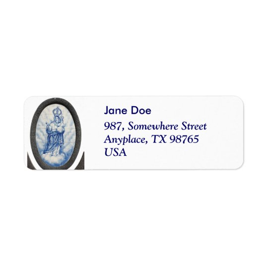 Our Lady of Peace Return Address Label