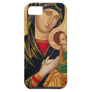 Our Lady of Perpetual Help Icon Virgin Mary Art iPhone 5 Covers