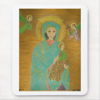 Our Lady of Perpetual Help Mouse Pad