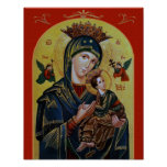 OUR LADY OF PERPETUAL HELP POSTER