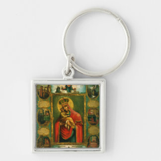 Our Lady of Pochaev Keychain