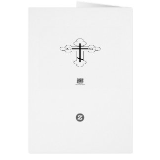 Our Lady of Sorrow Blank Note Card
