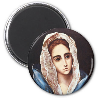 Our Lady of Sorrows 2 Inch Round Magnet
