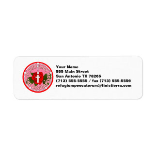 Our Lady of the Assumption Return Address Label
