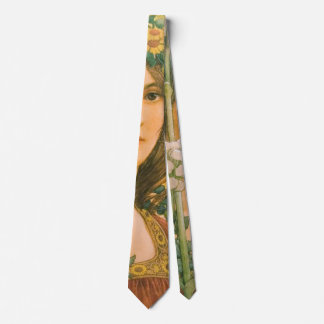 Our Lady of the Cow Parsley 1910 Tie