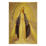 Our Lady of the Miraculous Medal Poster