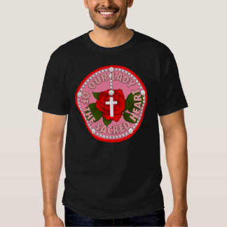 Our Lady of the Sacred Heart T Shirts