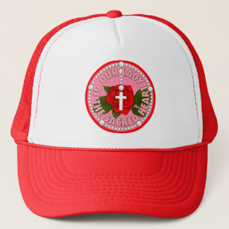 Our Lady of the Sacred Heart Trucker Hat