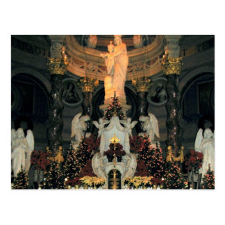 Our Lady of Victory Basilica Main Altar -Christmas Postcards