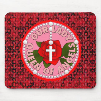 Our Lady Queen of Angels Mouse Pad