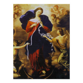 OUR LADY UNDOER OF KNOTS. POSTER