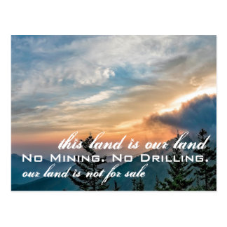Our Land: Great Smoky Mountains Postcard