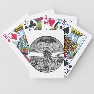 Our Liberties We Prize, Rights We Maintain Bicycle Playing Cards