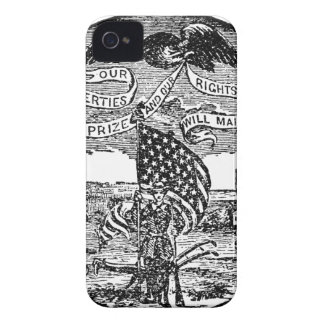 Our Liberties We Prize, Rights We Maintain iPhone 4 Cover